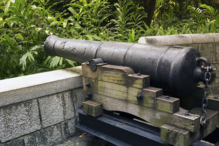 Fort Canning Park - Cannon