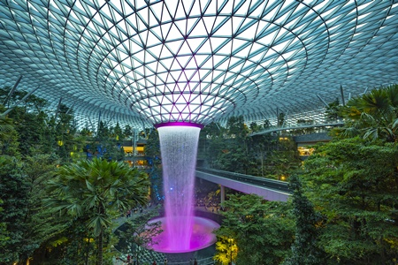 Singapore Changi Airport - Shiseido Forest Valley