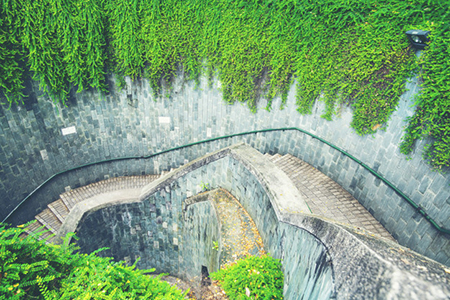 Fort Canning Park - Top view